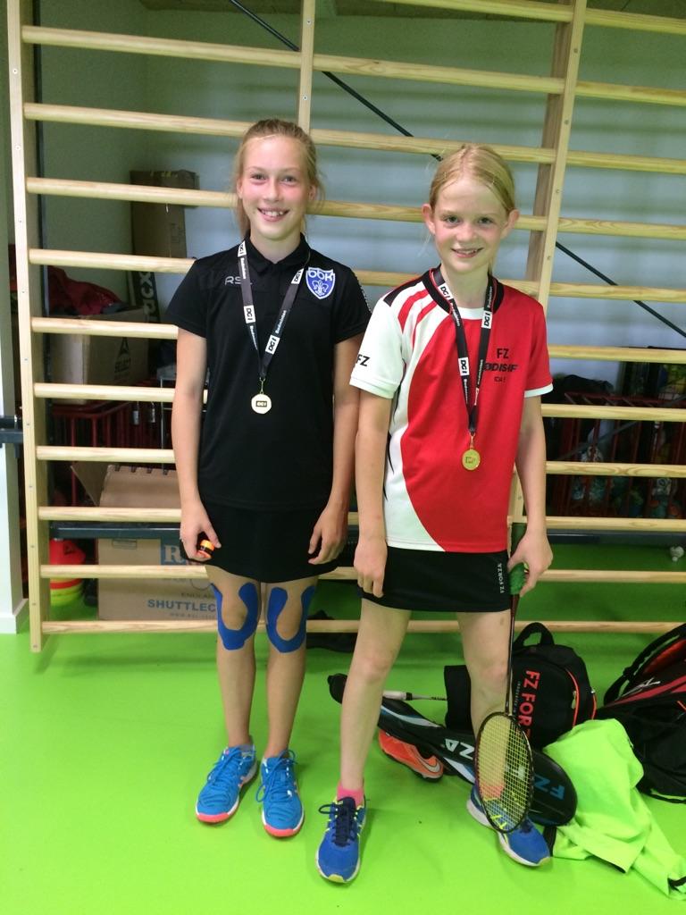 Laura og Ida vinder guld i Egtved